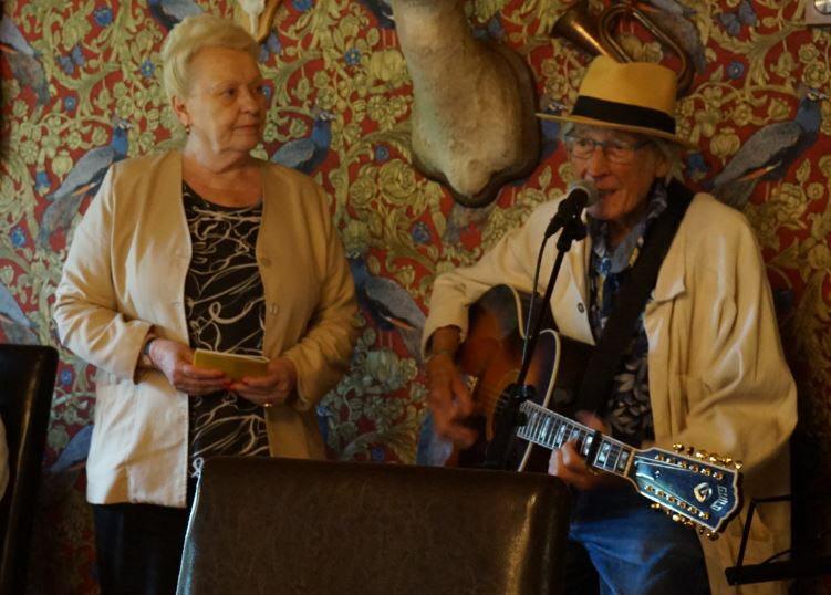 Wania och Gösta (Foto: Karin Forsgard)