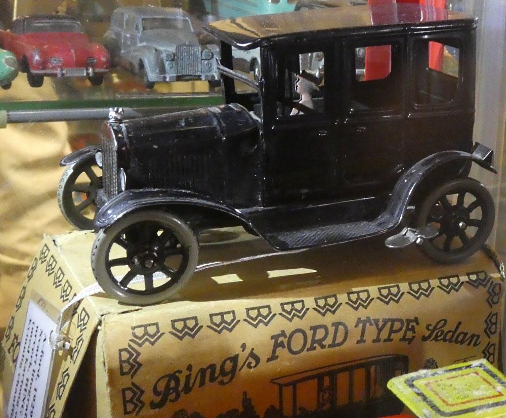 En av Jans finaste en A-Ford, dessutom med originalkartong.