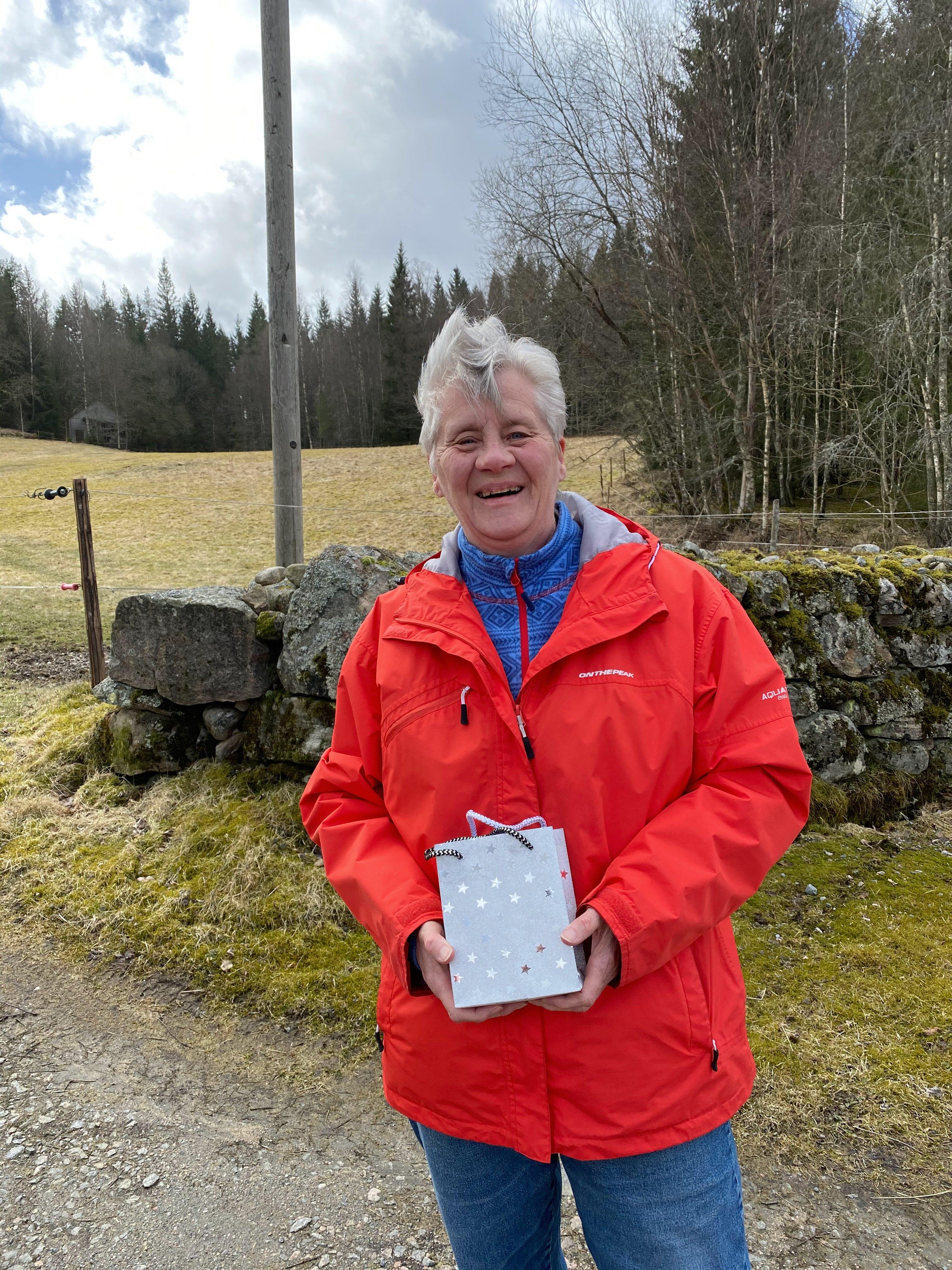 Vinnare april månad Ann-Sofie Johansson