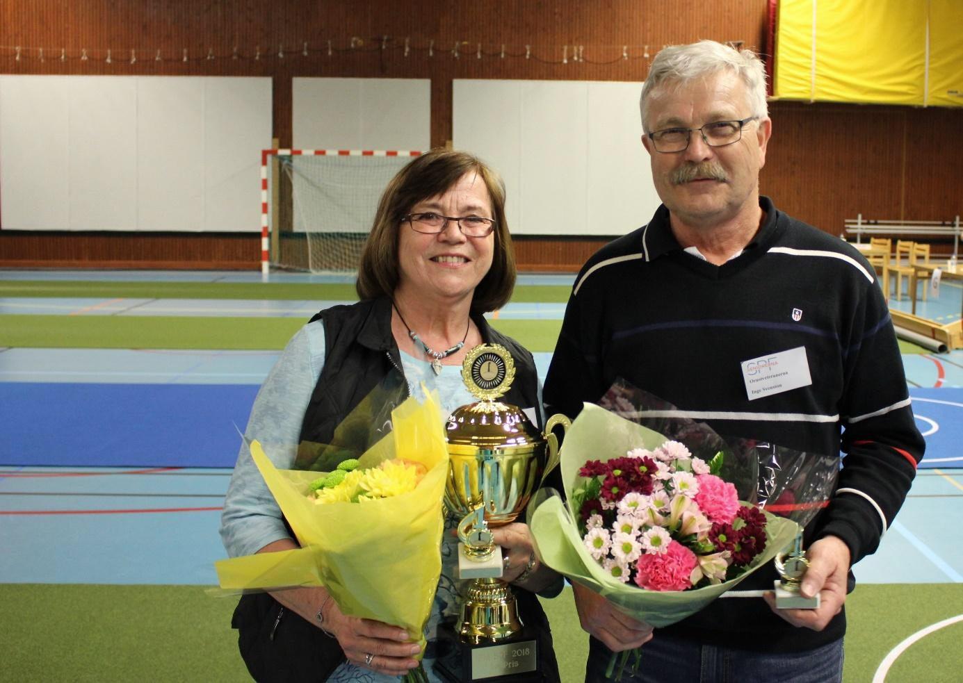 Vinnare Margaretha Svensson & Inge Svensson, SPF Orustveteranerna