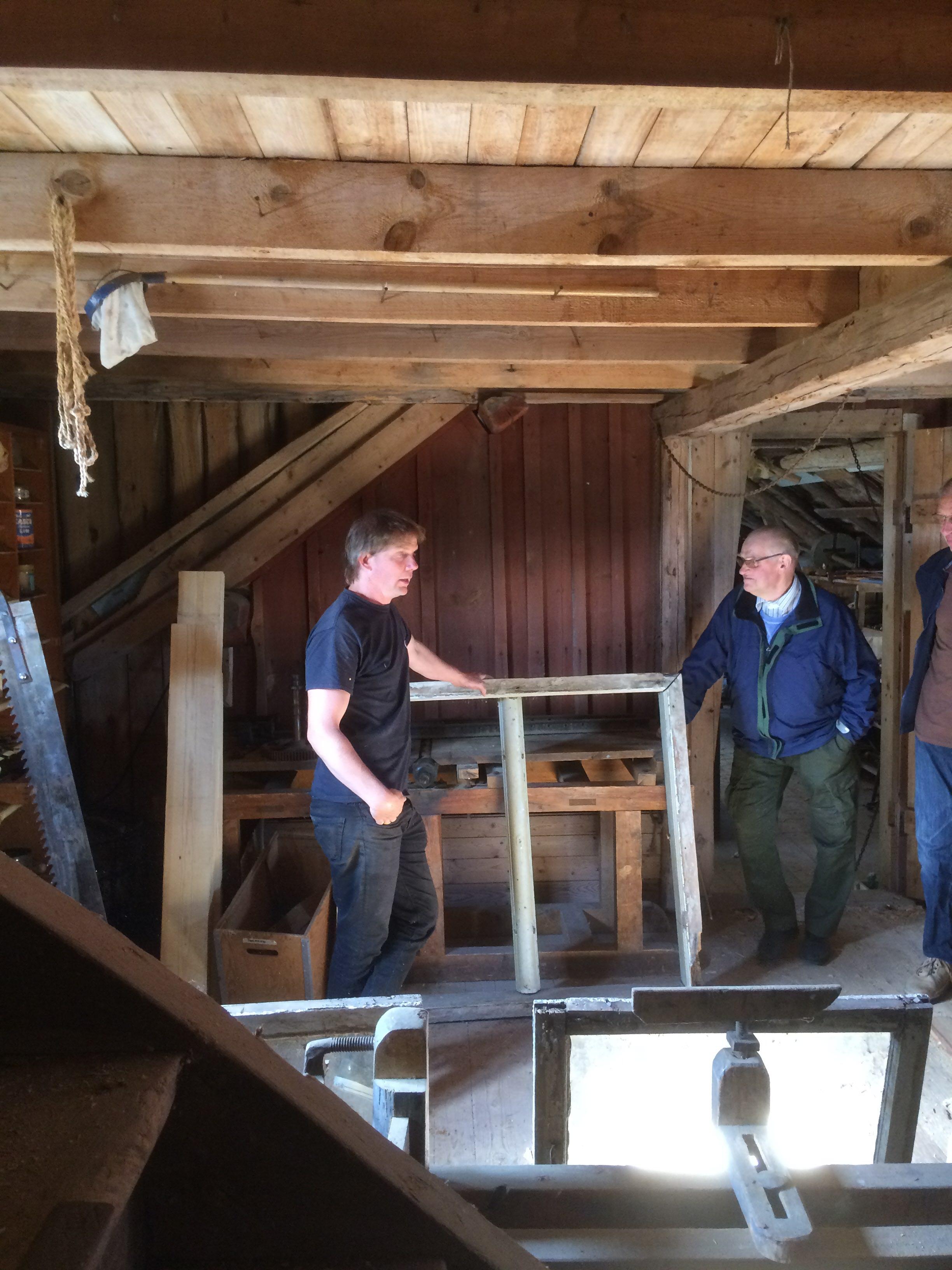 Renovering av ett 1600-tals fönster från en kulturbyggnad i Alingsås