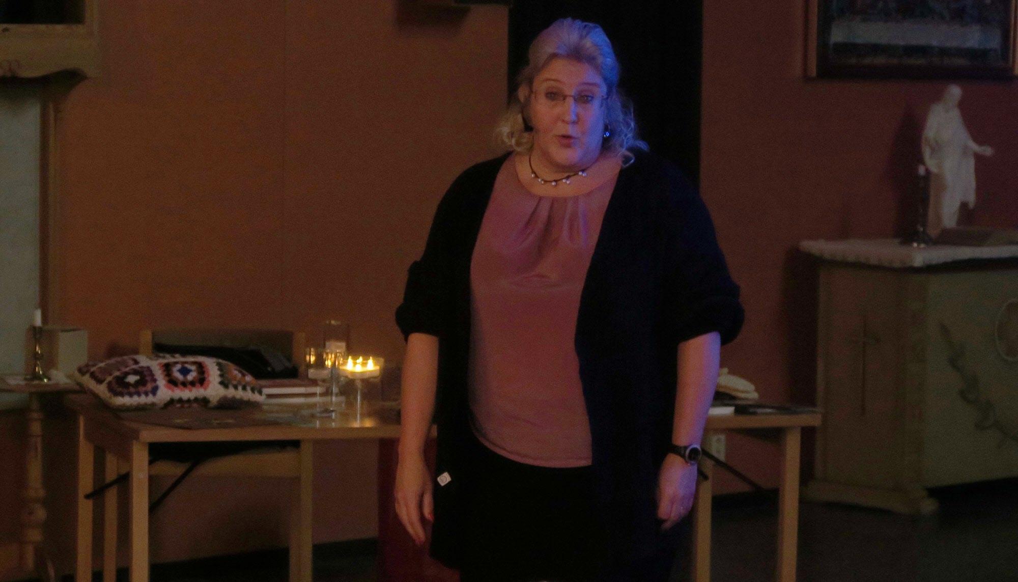 Jaana Jansson berättar om Kullängen och hemtjänsten