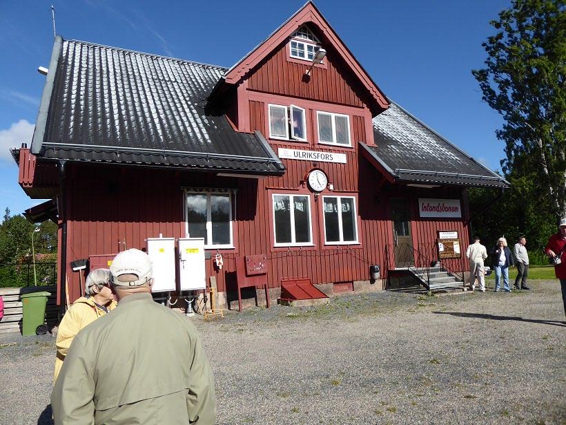 Här ska vi kliva på Inlandsbanan med mål Strömsund