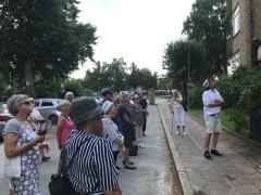 Torsdag den 15 juli arrangerade SPF Kamraterna, sin andra hemesterdag