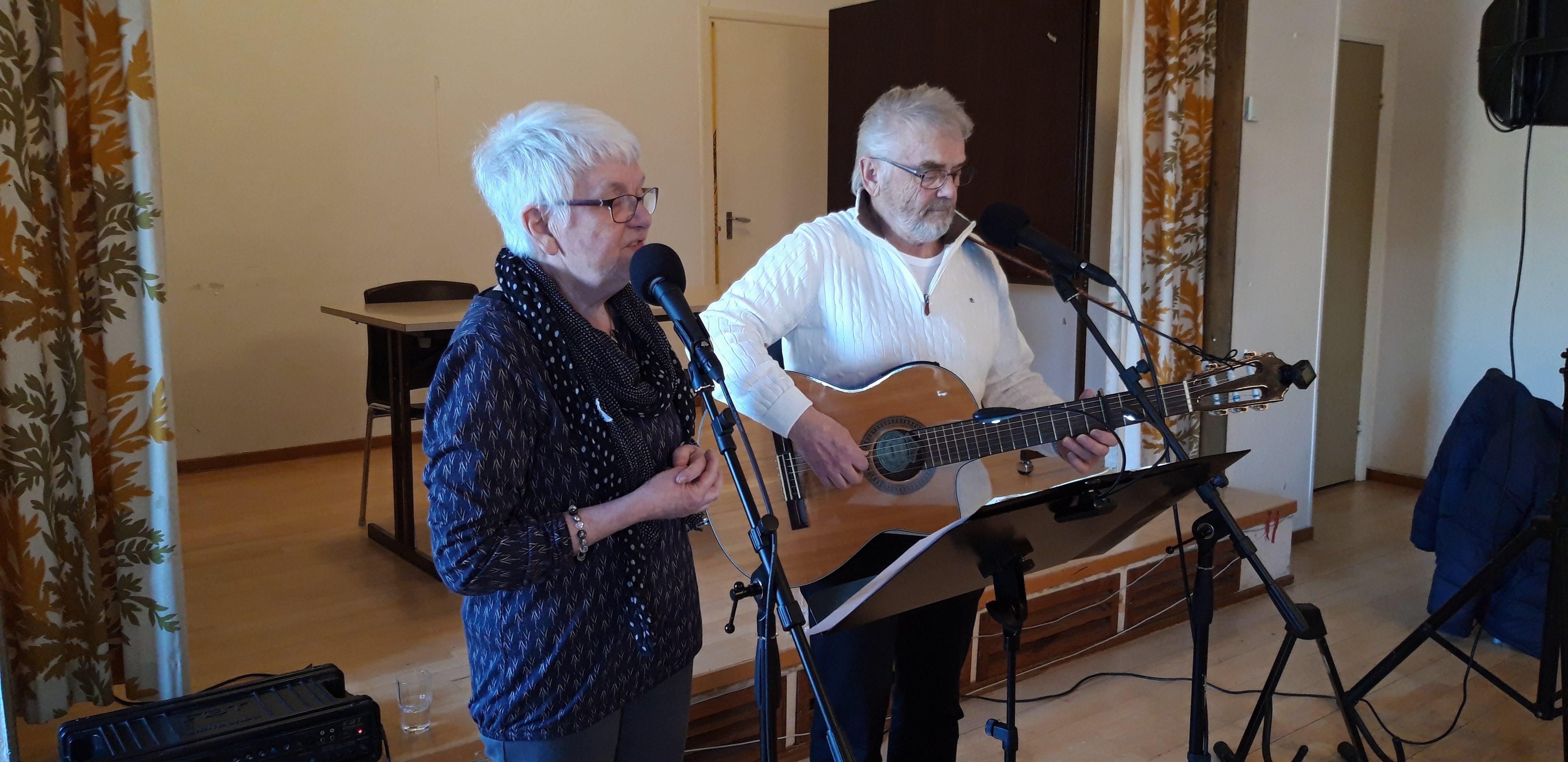 Underhållarna Ann-Christine och Leif Thuresson