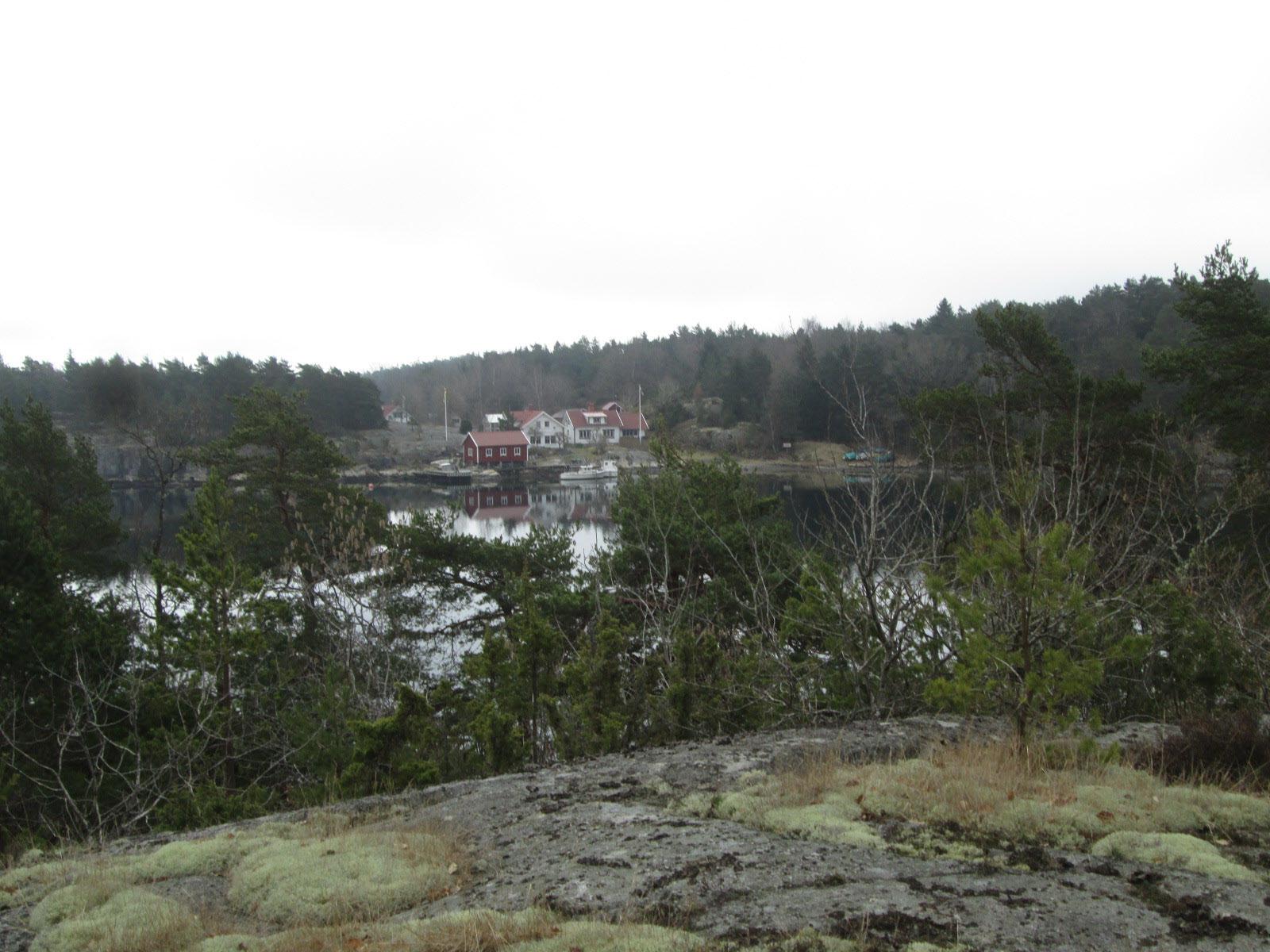 Utsikt från en bergsknalle