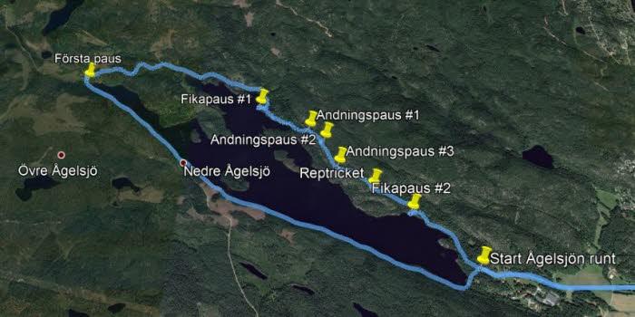 Kartbild från Google Earth Pro