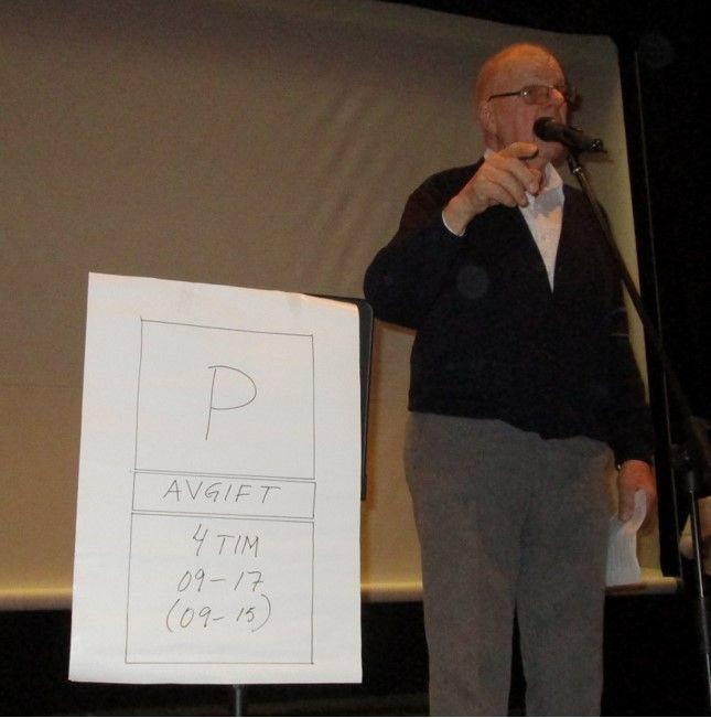 Bengt Swahn tolkar rättsfrågor angående parkering.