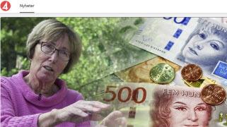 SPF Seniorerna i TV4 Nyheterna om det nya pensionsförslaget
