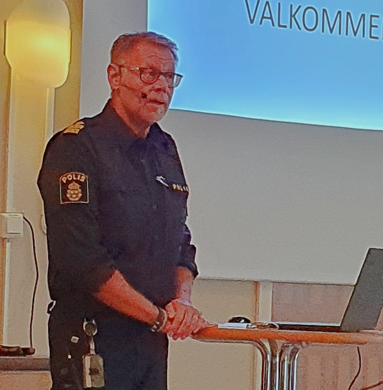 Anders Hedström ger oss nyttig information