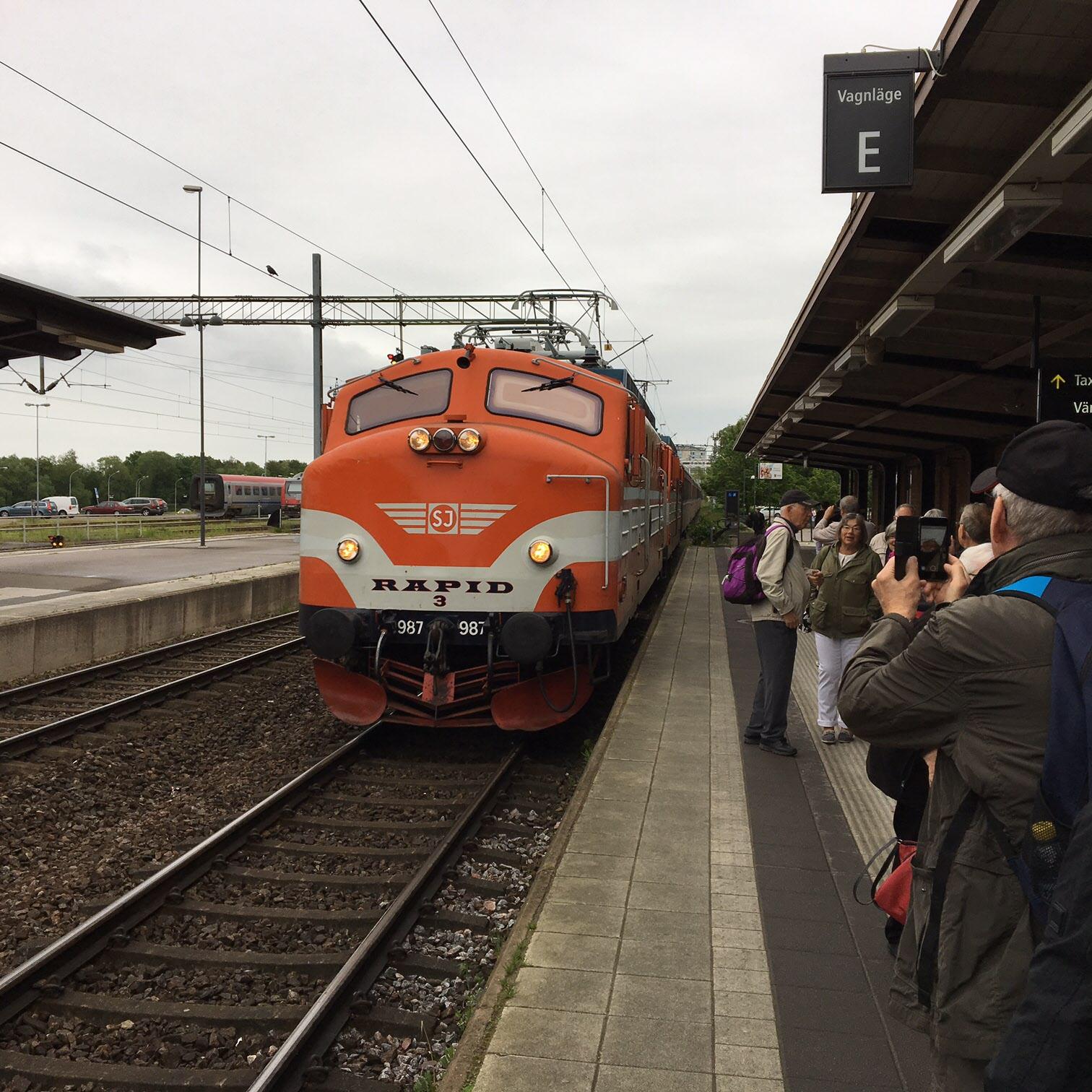 Ankomst till Linköping
