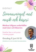 Digitalt sommarmingel den 9 juni
