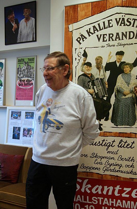 Sune Karlsson berättar om Thore Skogmans liv