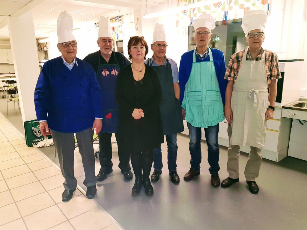 Matglada herrar med läraren Agneta Lundqvist