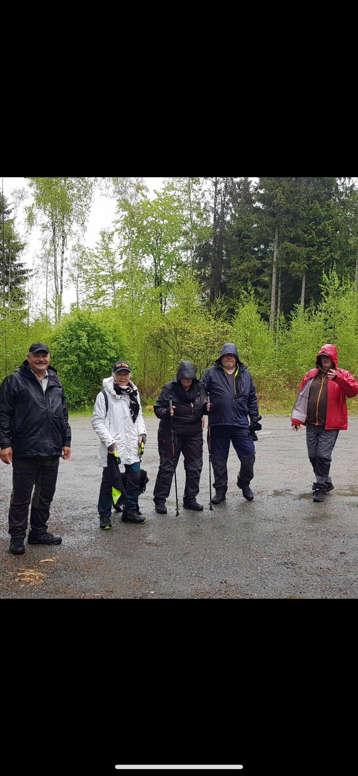 Vi som gick Björn,Carita, Ann-Kristin,Lars,Svenne,Tikko och Helene fotograferade