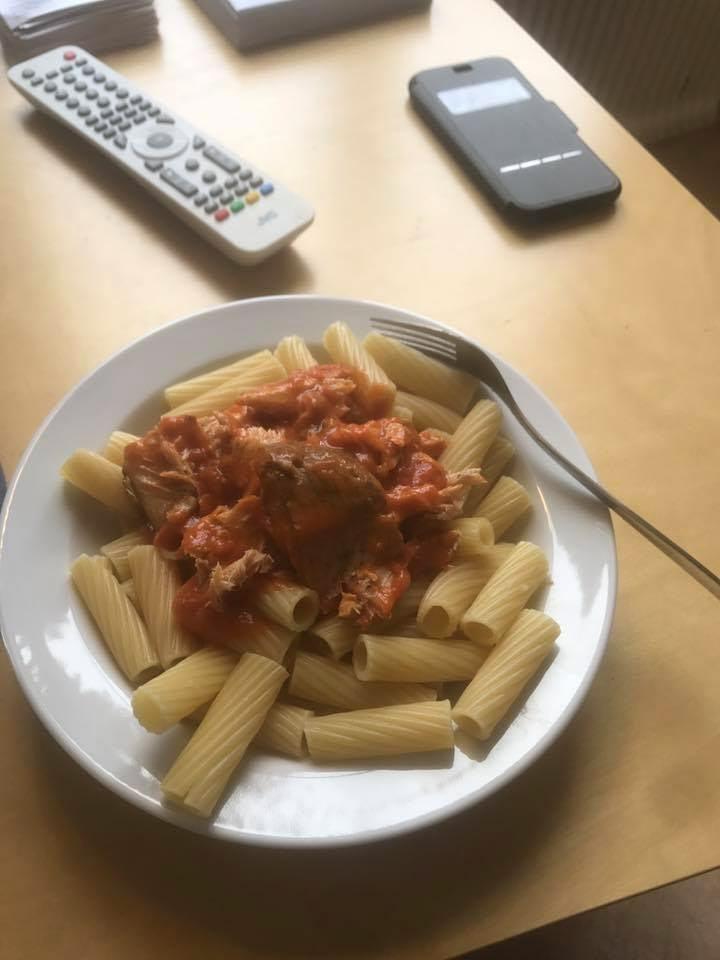 Johans lunch