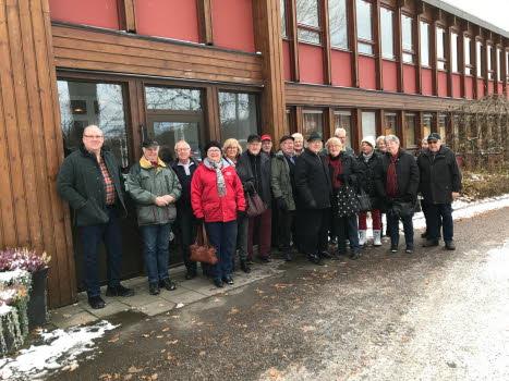 SPF grupp 1 besöker Swisslog