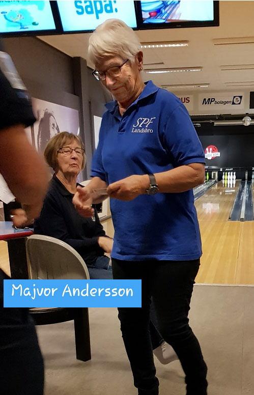 Majvor Andersson bästa damspelare