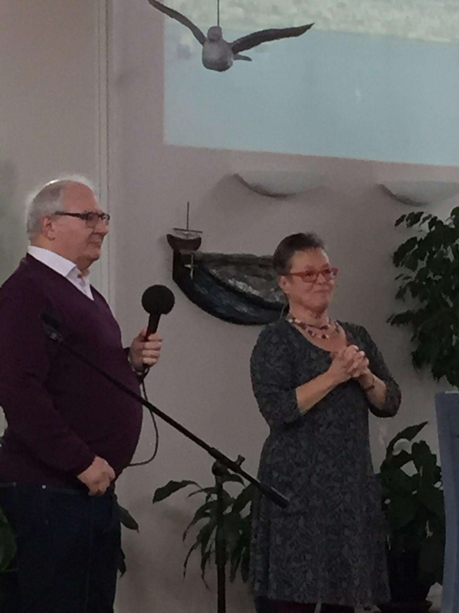 Erland Andersson och Katinka Lindhe