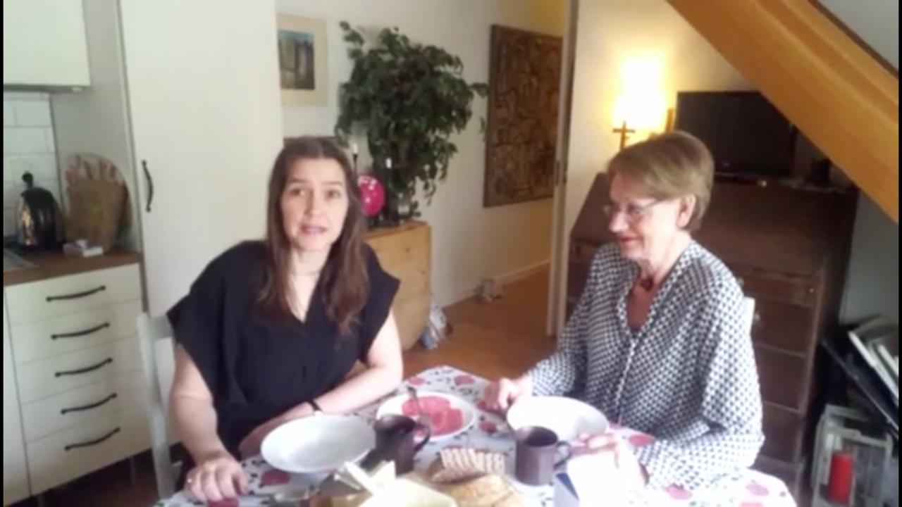 Frukostmöte med Lotten och Gudrun Schyman