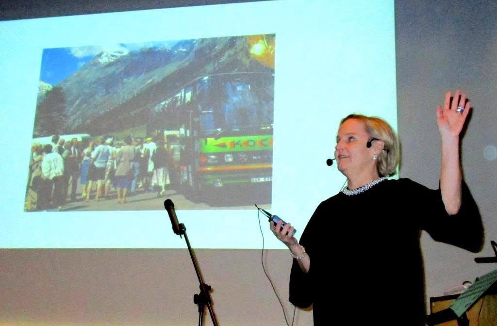 Ann-Sofie Koch för oss ut i världen från Växjö Småland Airport