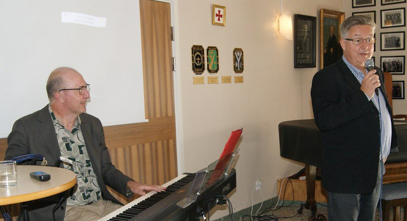 Mikael Wretholm och Stefan Appelqvist (piano)