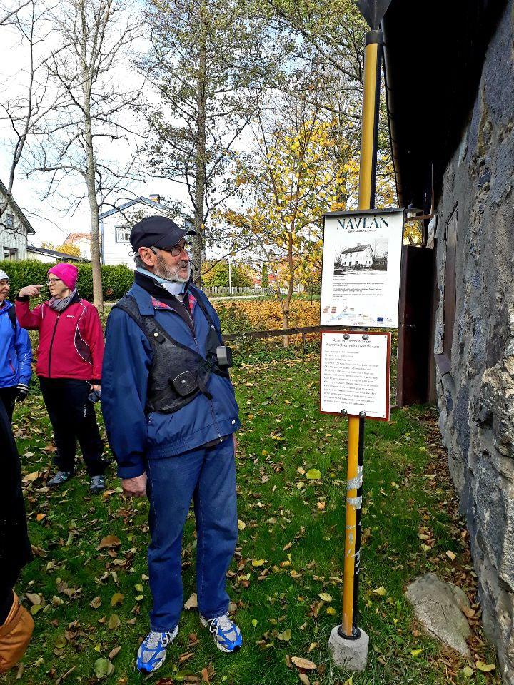 Vår guide Sven Eriksson.