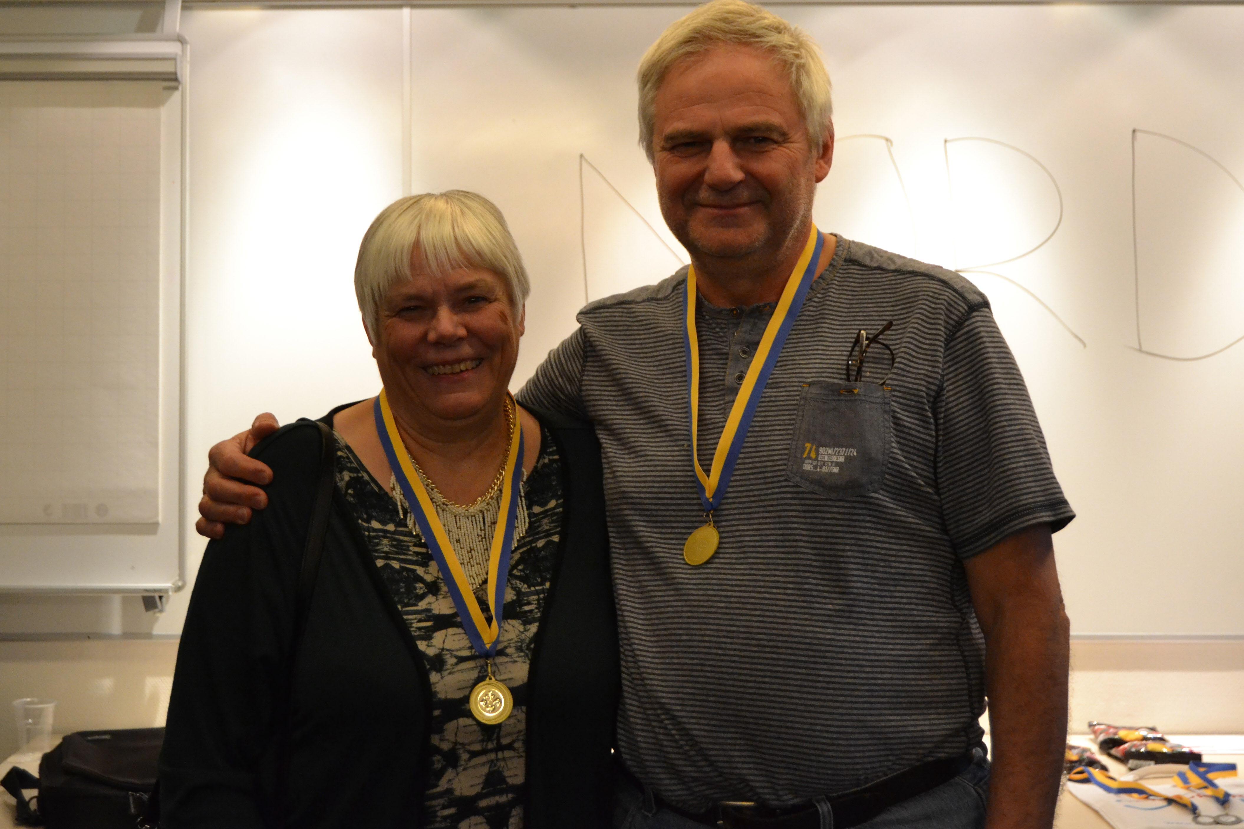 Ässy Sandén och Sten Gustavsson gick upp i topp redan i rond två och behöll ledningen ända in i mål.