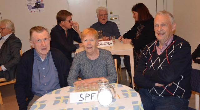 Barbro Petterssson, Bo Göransson, Lennart Johansson