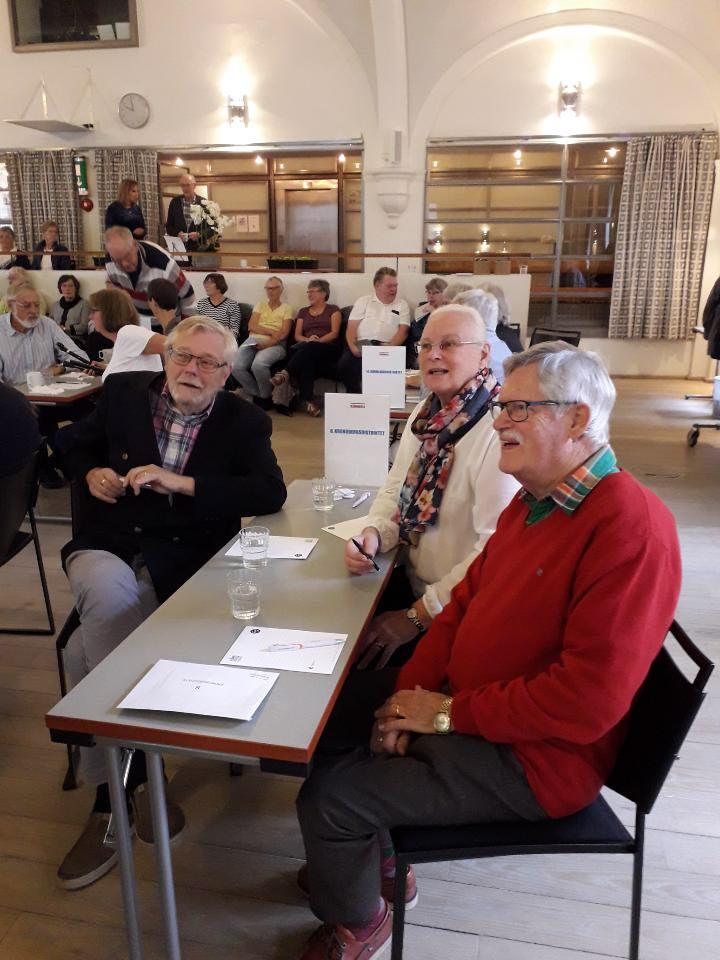 Kronobergs distriktslag från Ljungby: Per Bergman, Lottie Jernberg Bergman och Karl-Gustav Westman.