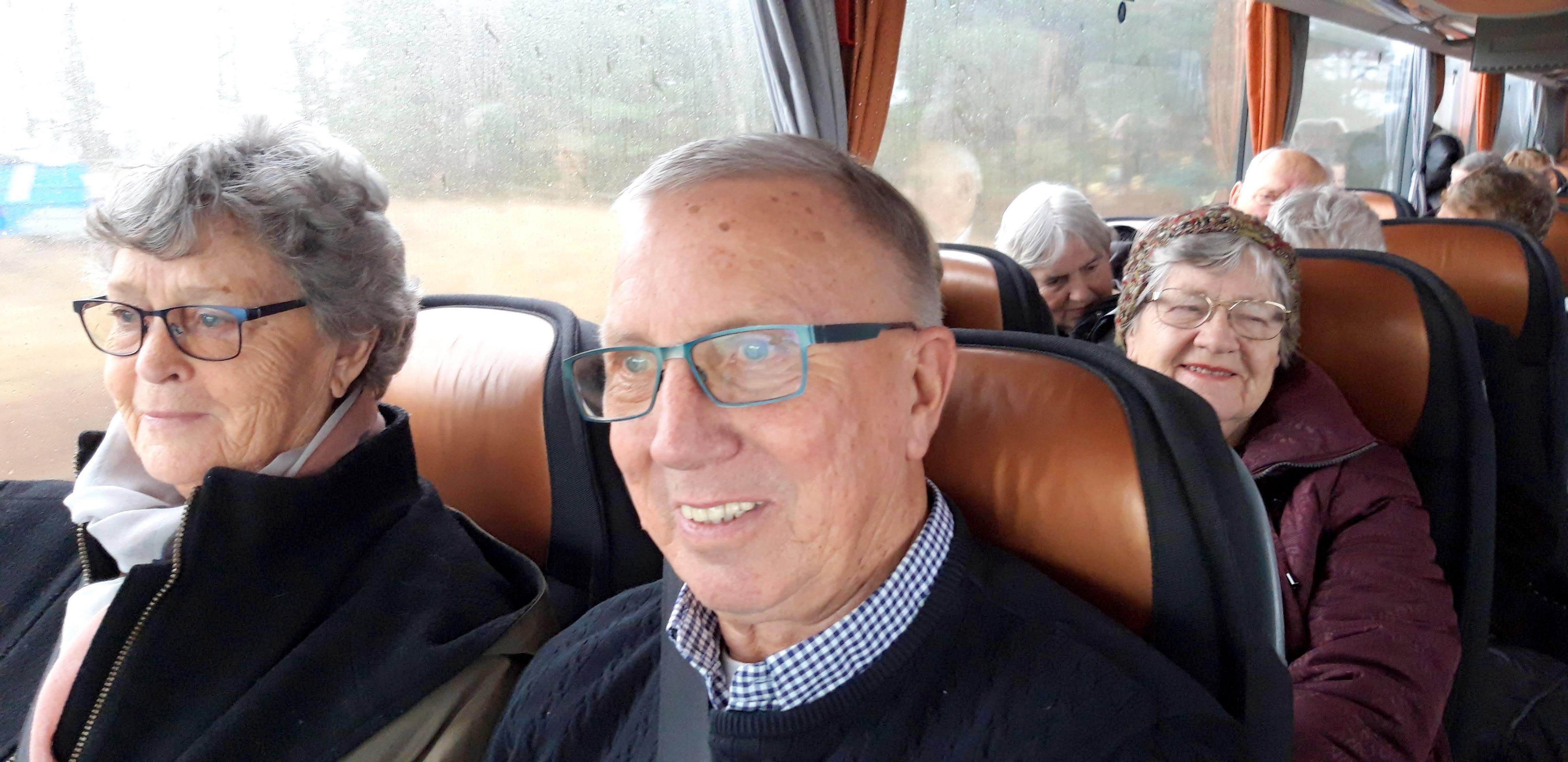 Glada resenärer