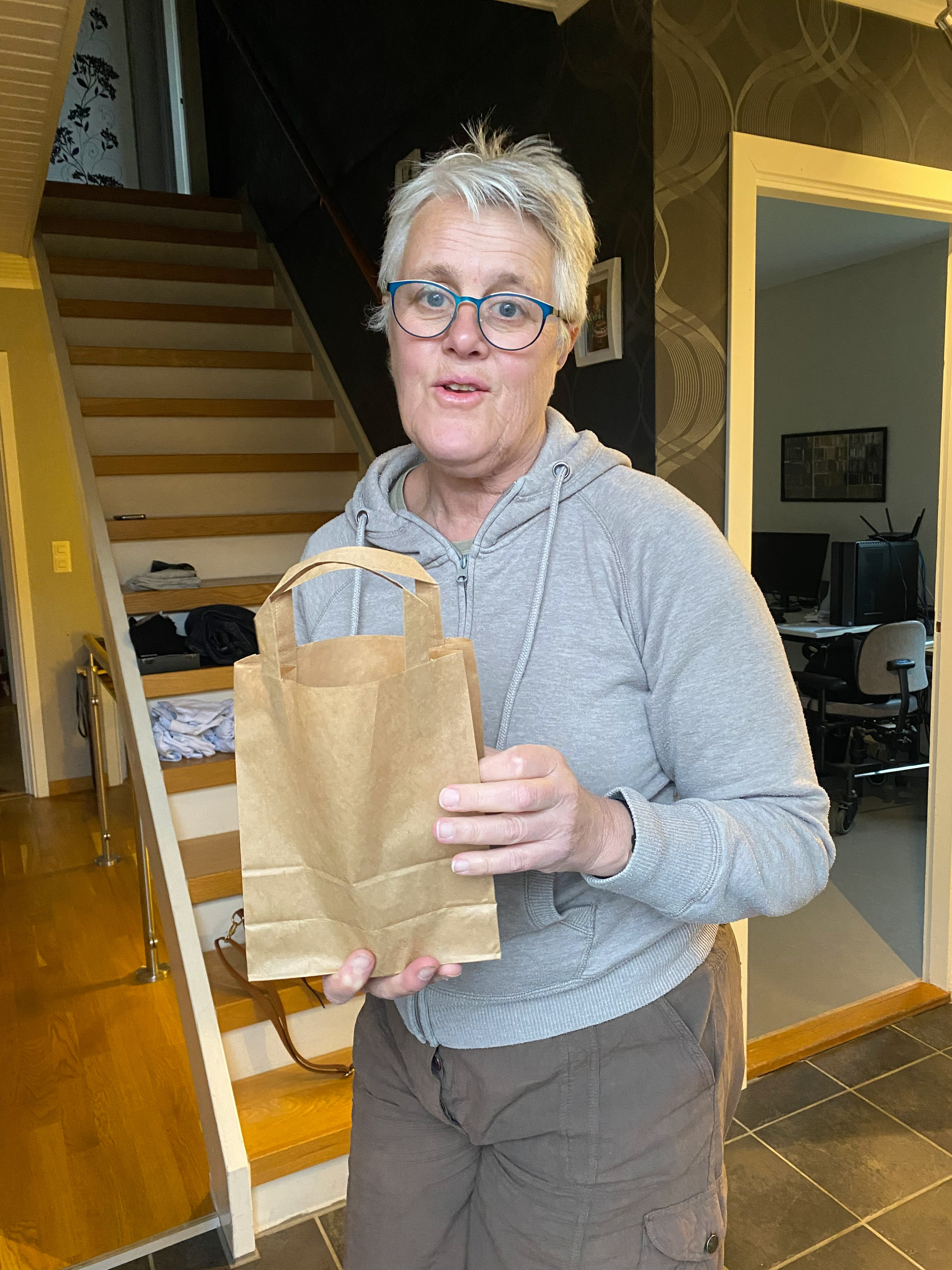 Vinnare april månad Helene Hansson
