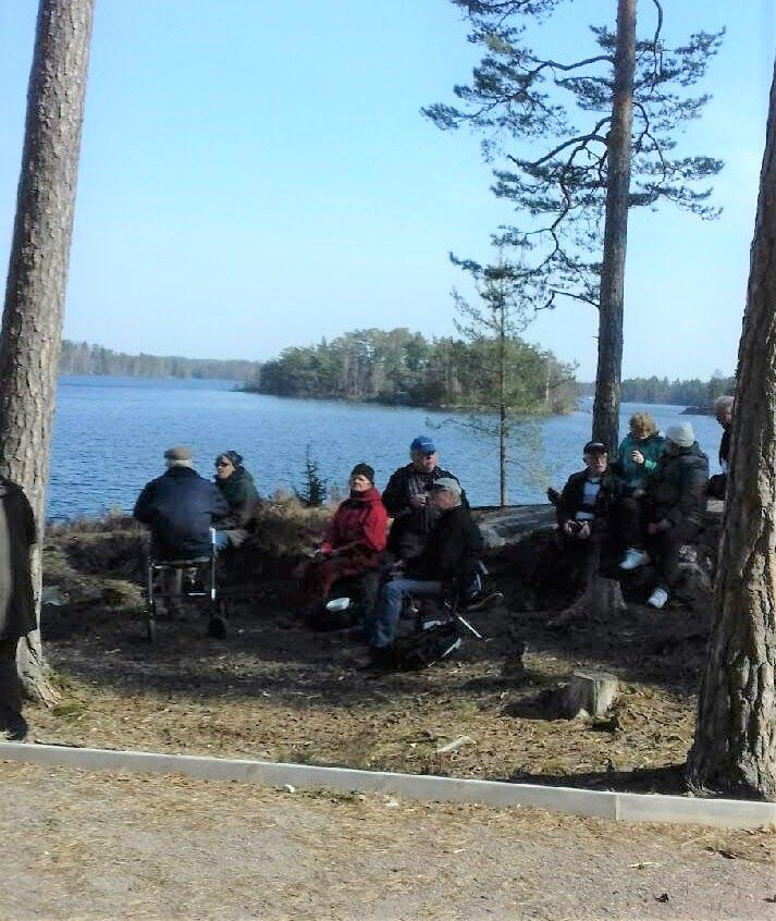 Gisesjön Vilopaus. Foto: Catarina Ekström.