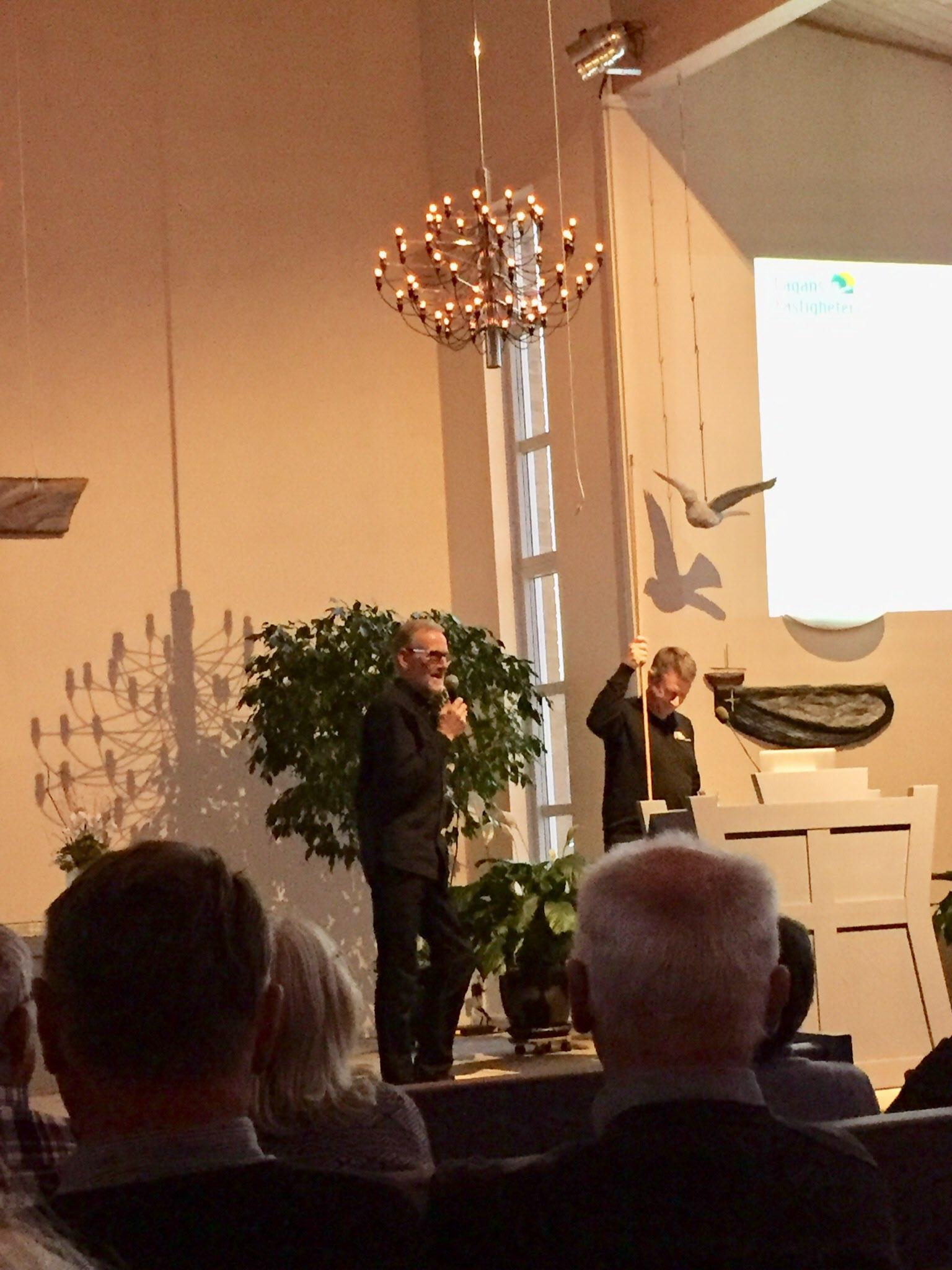 Carl Ejnar Svensson och Kristoffer Andreasson