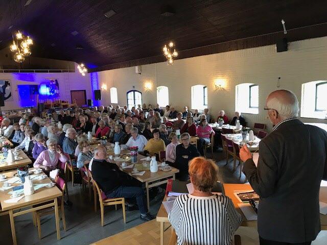 Föreningsinformation - ordförande Lars Balkö informerar