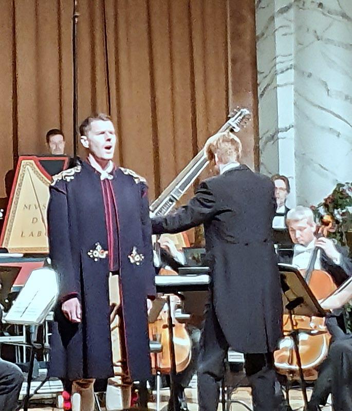 Anders J Dahlin, tenor