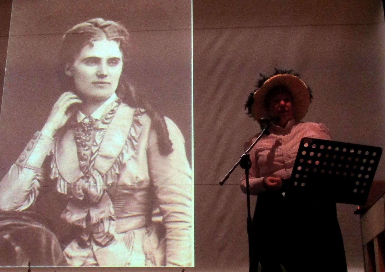 Lisbeth berättar om en av kvinnorna på Huseby, nämligen Kristina Nilsson.