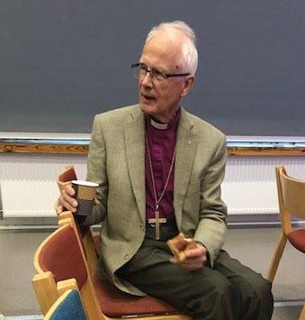 Lars-Göran Lönnermark, biskop emeritus och överhovpredikant