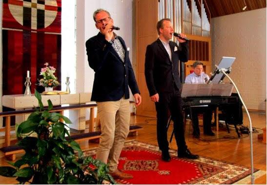 Tre Herrar, Jimmy Lönnetun, Markus Kroon, Marcus Silvander.