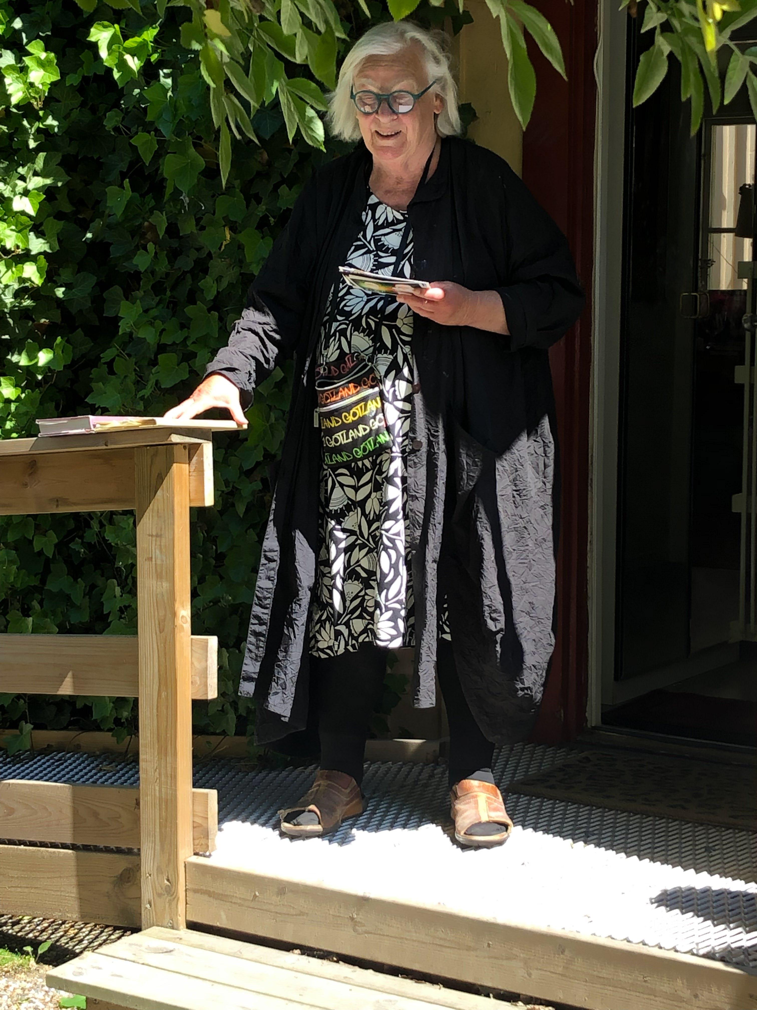 Agneta Lundström. Foto: Lillebil Björkman