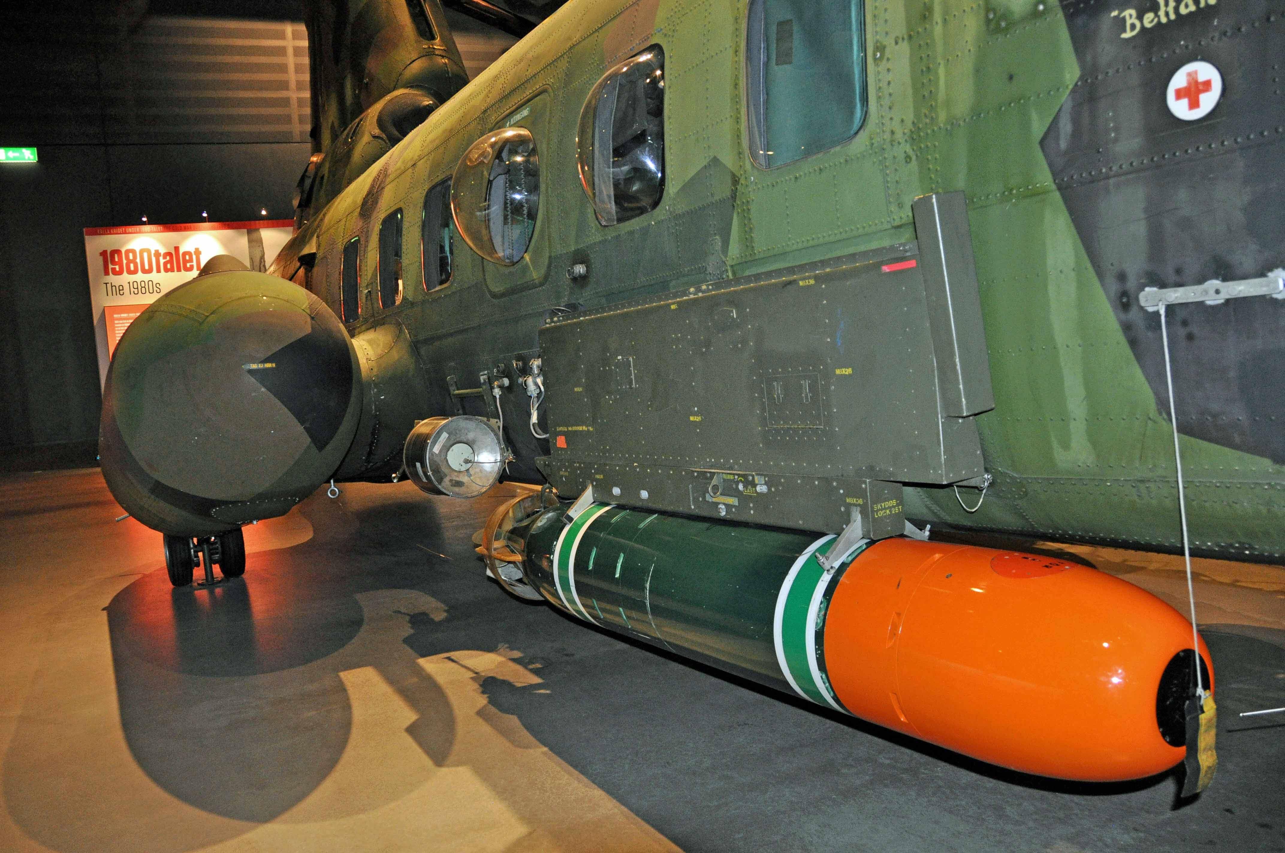 Torpedbeväpnad helikopter