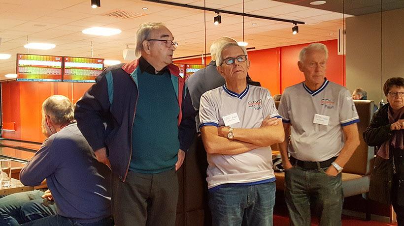 SPF Friskvård Hans Thors, Sören  Hedlund och Bert  Andersson Falun