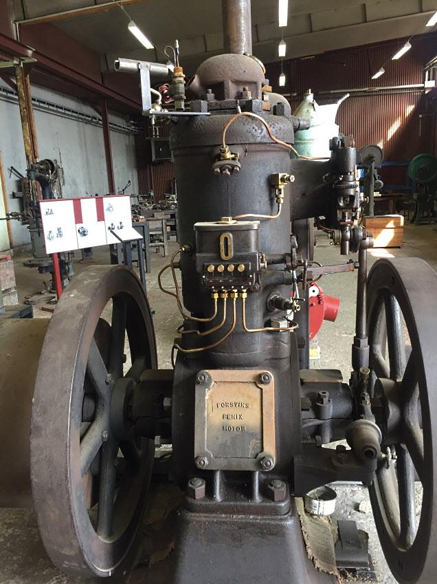 Forsviks Fenix Motor - tändkulemotorn som tillverkades under många år.