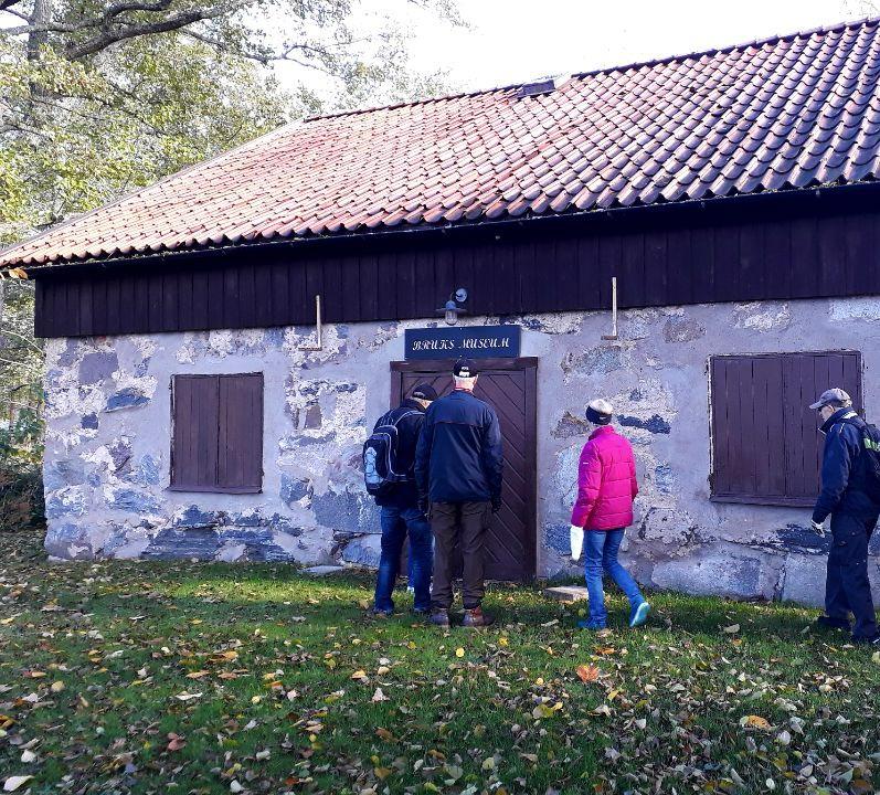 Bruks museet vid Svalbergsgården.
