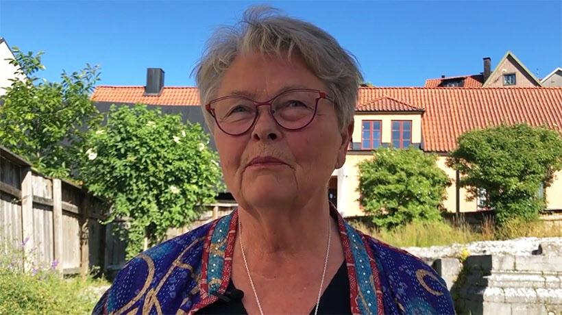SPF Seniorernas förbundsordförande Eva Eriksson.