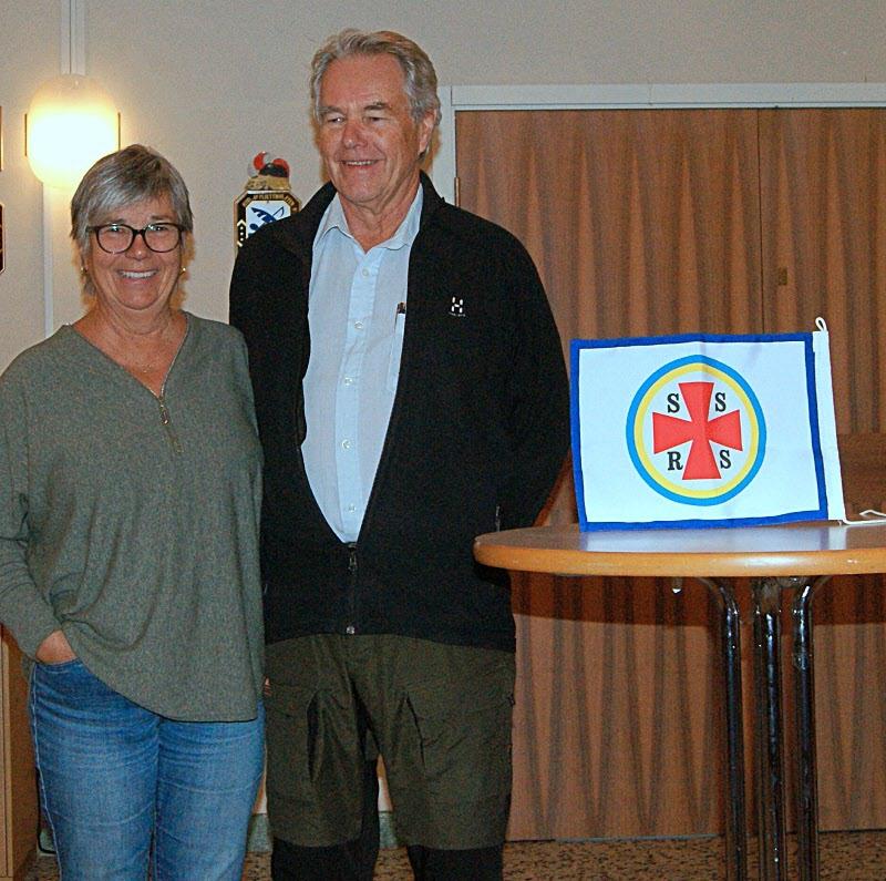 Lisbeth och Bertil Neidenmark berättar om sjöräddningen