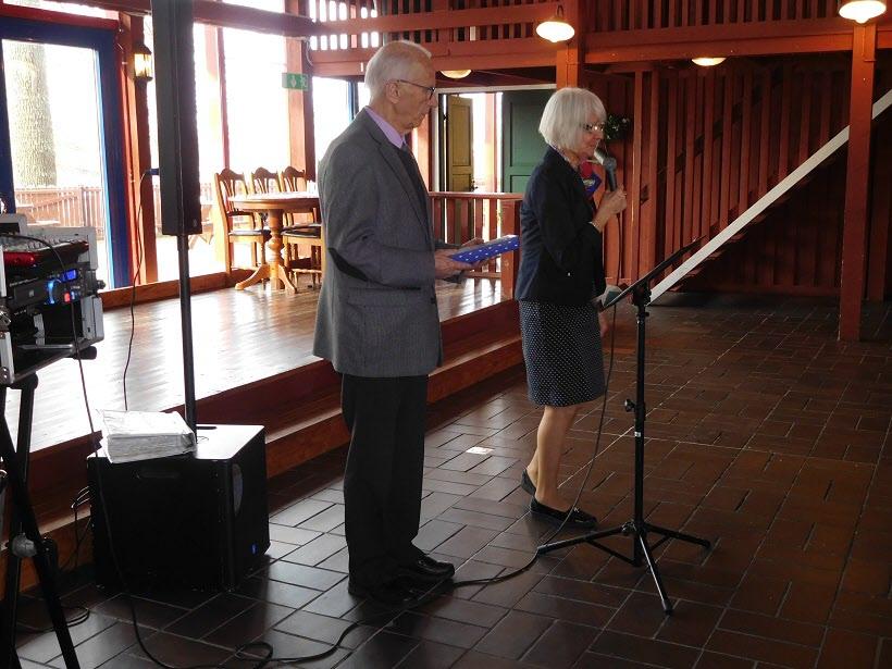 Kilsbergsbygdens ordförande har ordet.