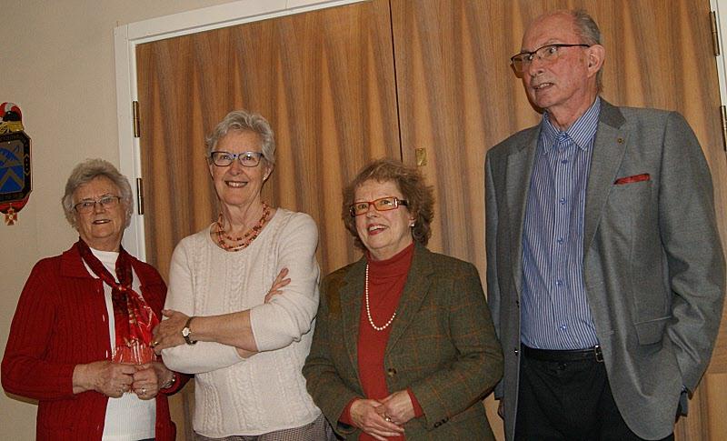 Och vinnare blev: Birgitta Norekrans, Margareta Hansson, Karin Nilsson och Hans Grundel. Grattis och Lycka Till!