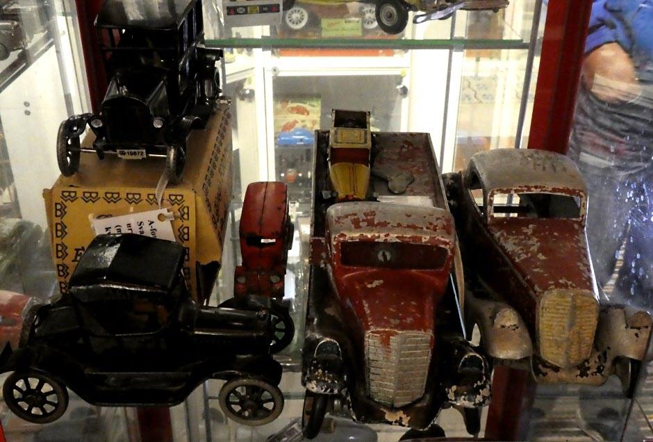 Riktigt gamla bilar kan vara väldigt värdefulla eller bara sällsynta.