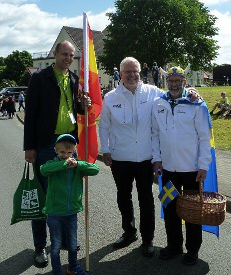 Grevesmühlens, Laxås och våran egen borgmästare.